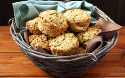 Hidden Vegetables Apple Muffins