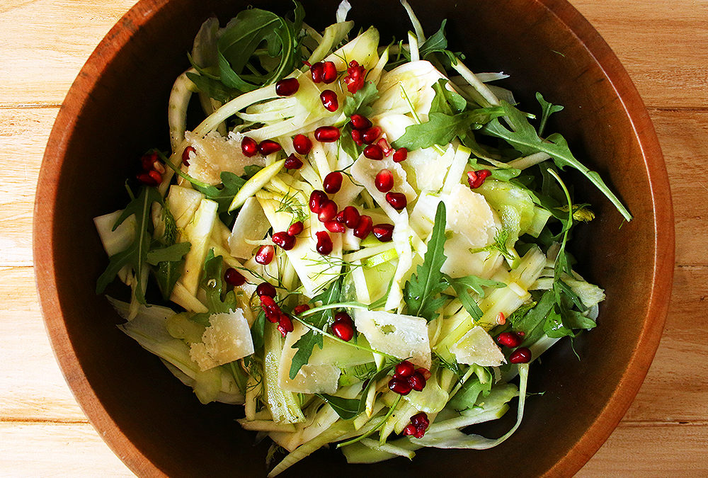 Apple Fennel Salad